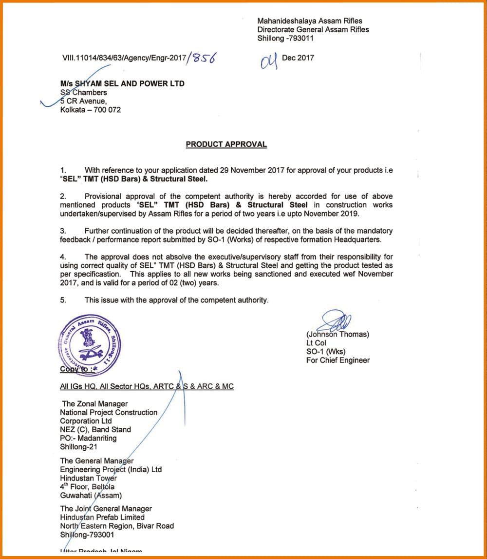 hyam sel tmt price list in india