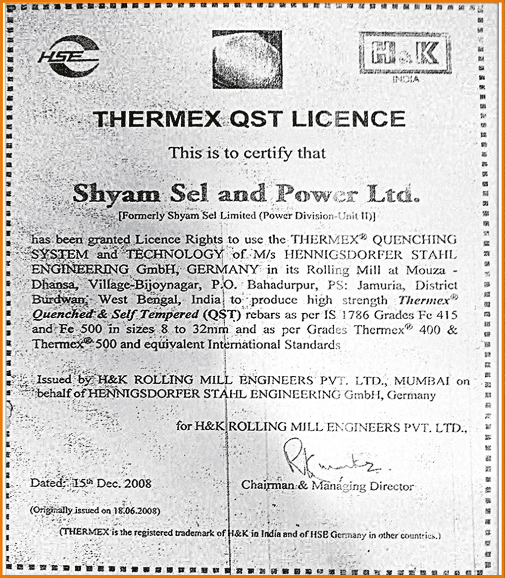 Shyam tmt bar price today in west bengal
