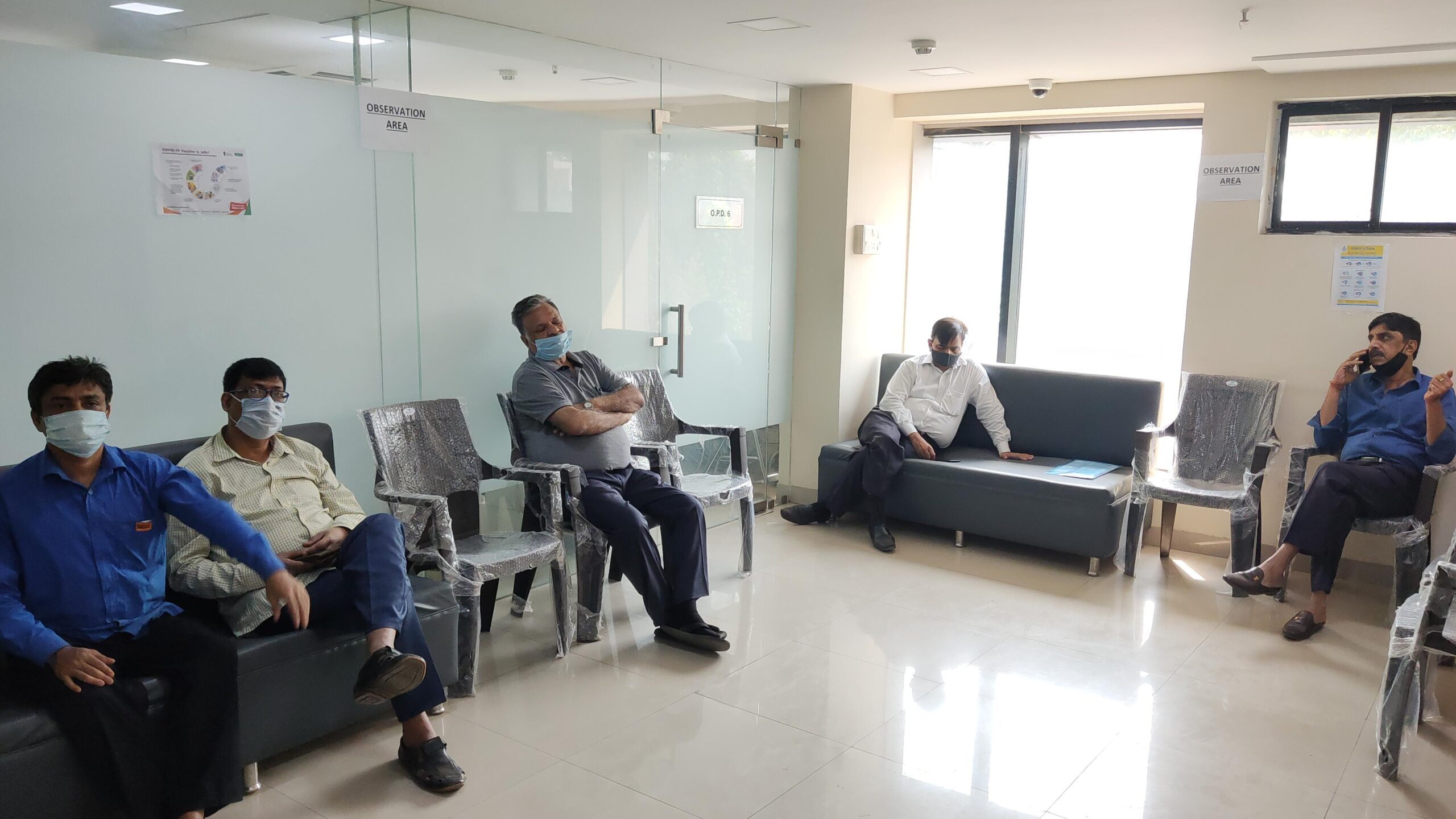 Shyam Metallics Organises a Covid-19 Vaccination